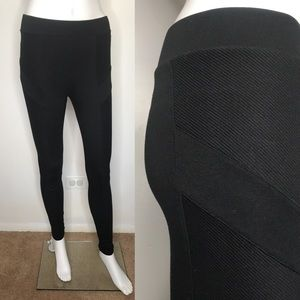 Victorias Secret Black Moto Leggings XS